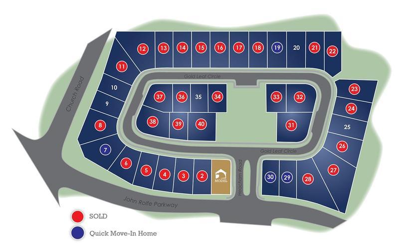 John Rolfe Square Eagle Construction Site Plan