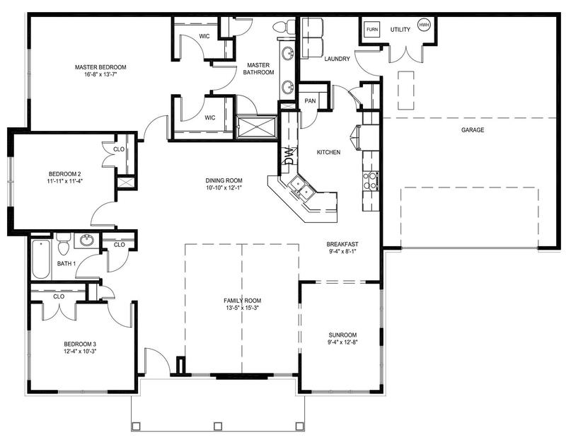 Eagle Construction Villas at Dogwood Emory Floor Plan