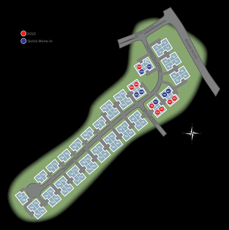 Villas at Providence Eagle Construction Site Plan