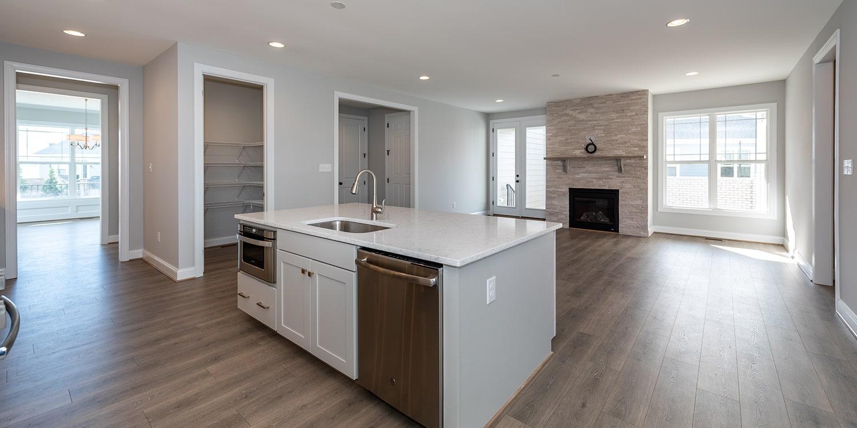 Kitchen featured in the Caroline By Eagle in Blacksburg, VA