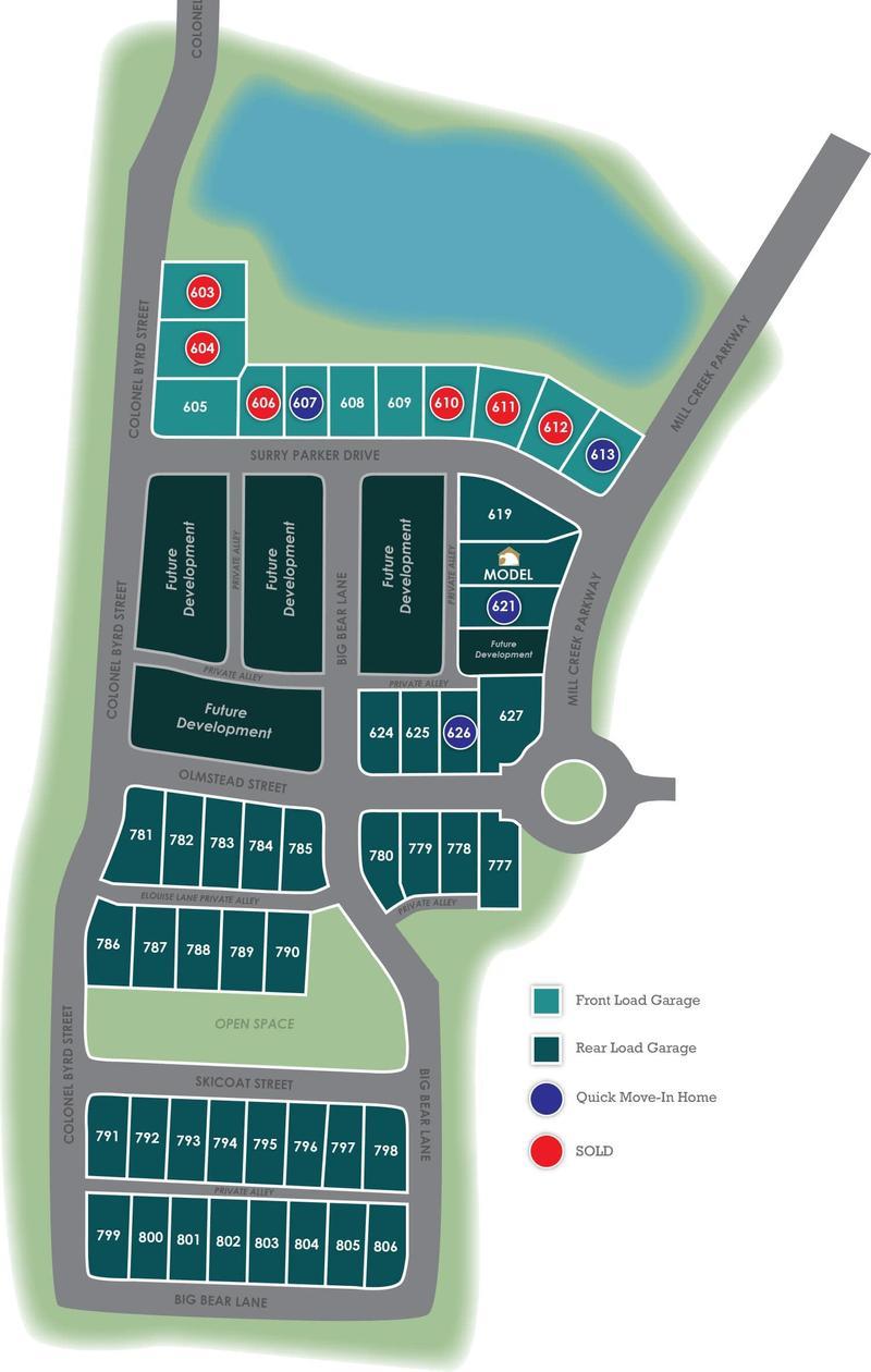 Culpepper Landing Site Plan Eagle Construction