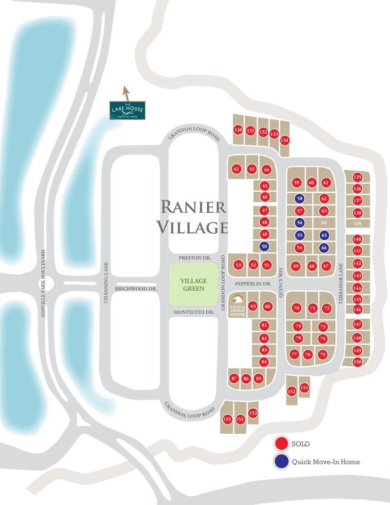 Eagle Construction Ashville Park Site Plan