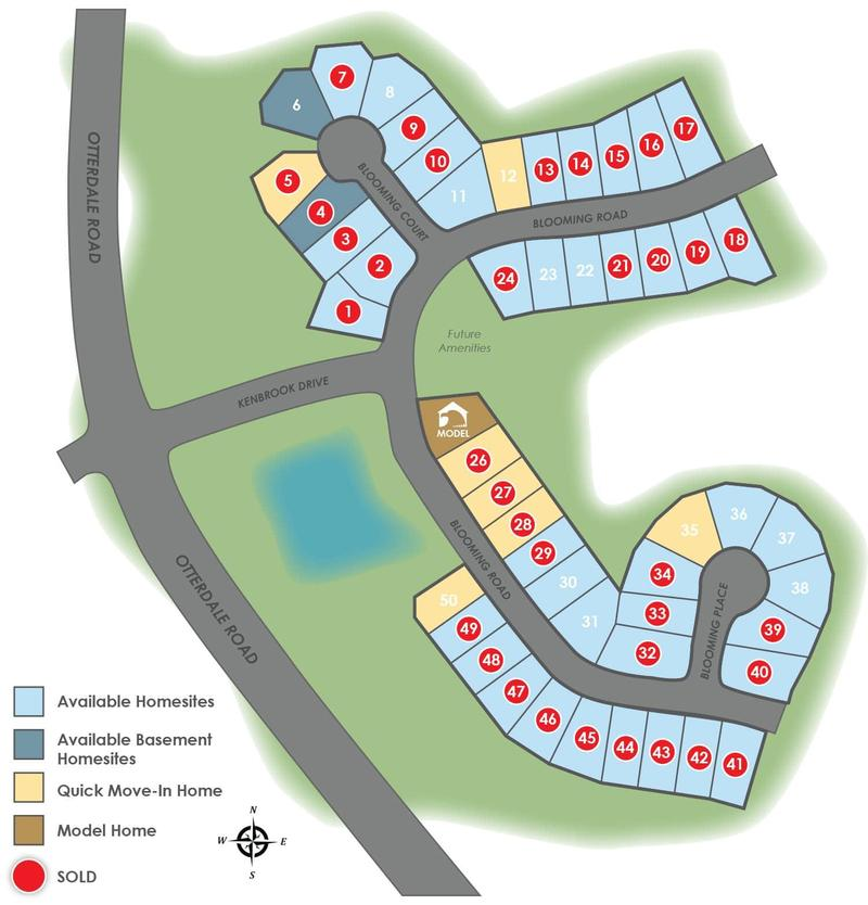 Eagle Construction Harpers Mill Site Plan