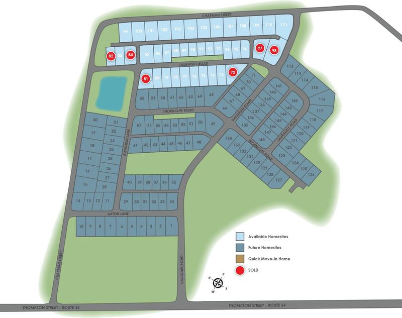 Eagle Construction Lauradell Site Plan