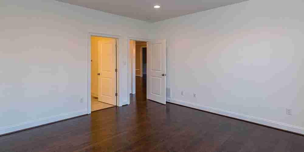 Eagle Construction Fulton Master Bedroom View to Door