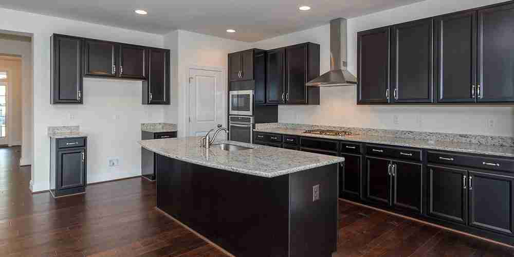 Eagle Construction Fulton Kitchen Dark Cabinets