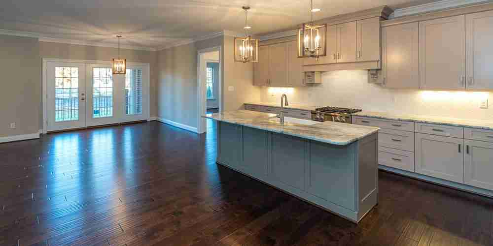 Eagle Construction Fulton Kitchen Open Flow