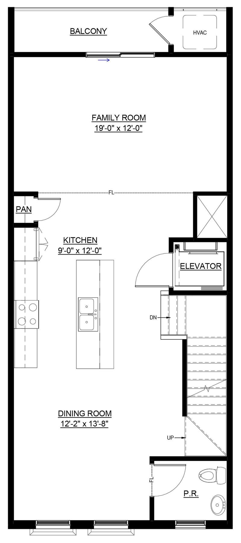 dorset ii with elevator home plan by eagle in floor plans