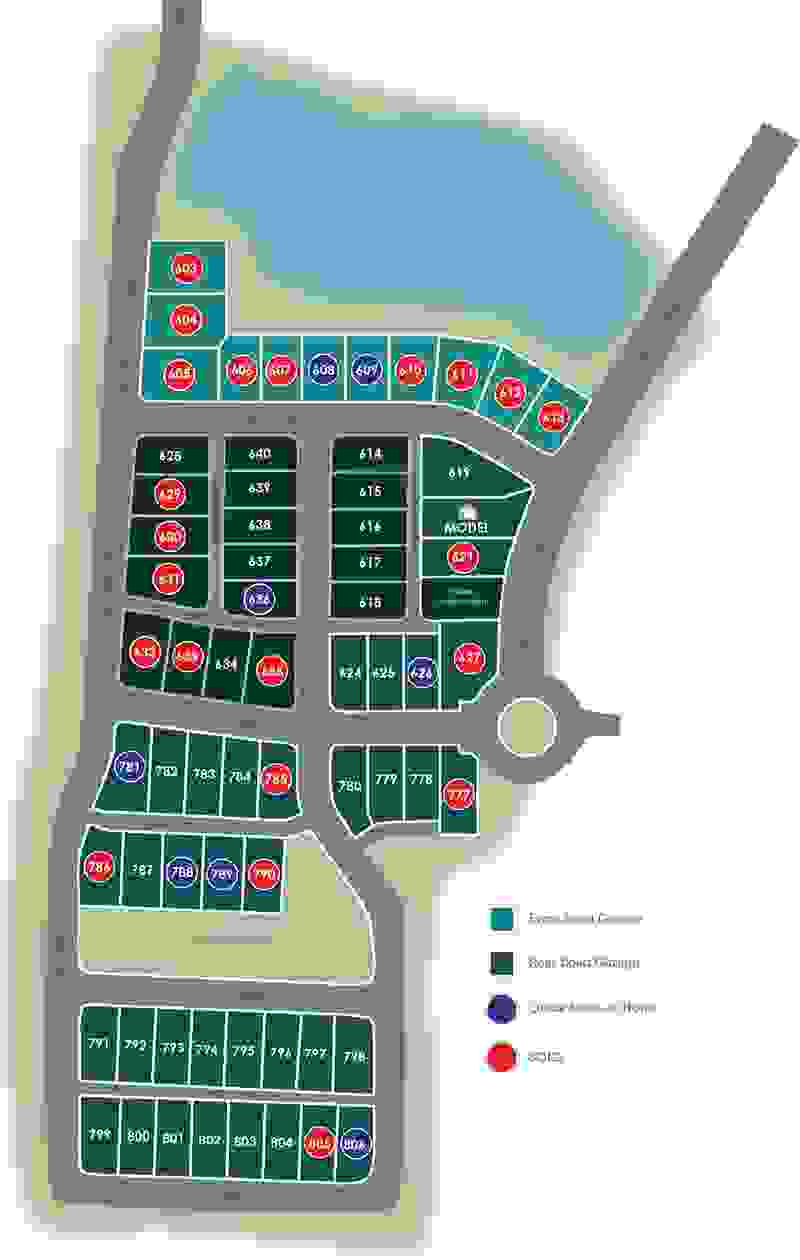 Eagle Construction Culpepper Landing Site Plan
