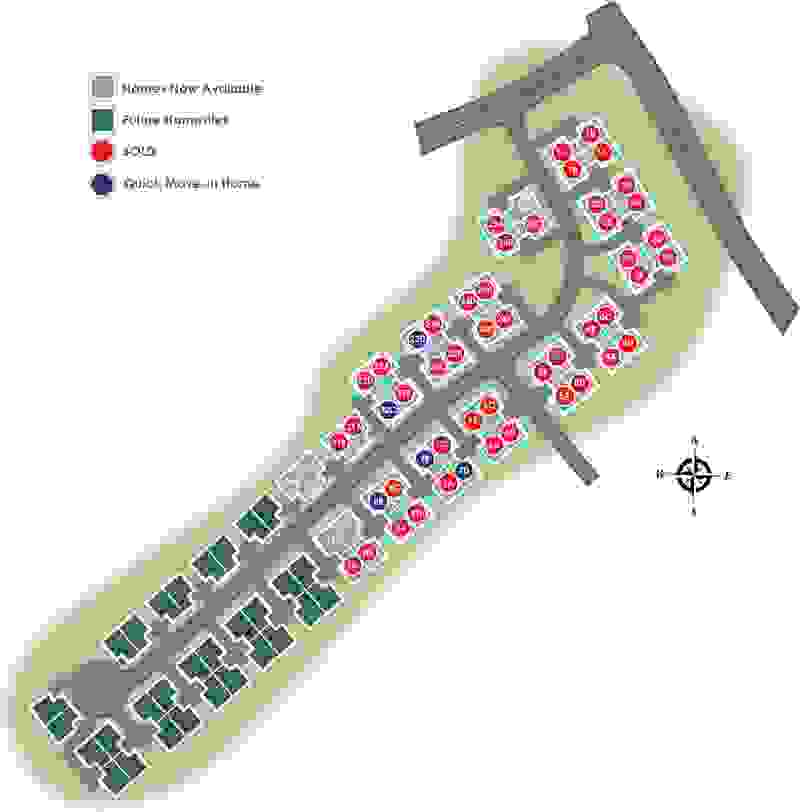 Eagle Construction Villas at Providence Site Plan