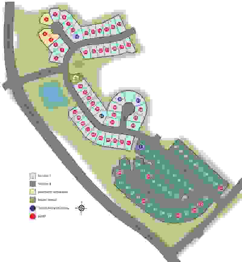 Eagle Construction Kenbrook at Harpers Mill Site Plan