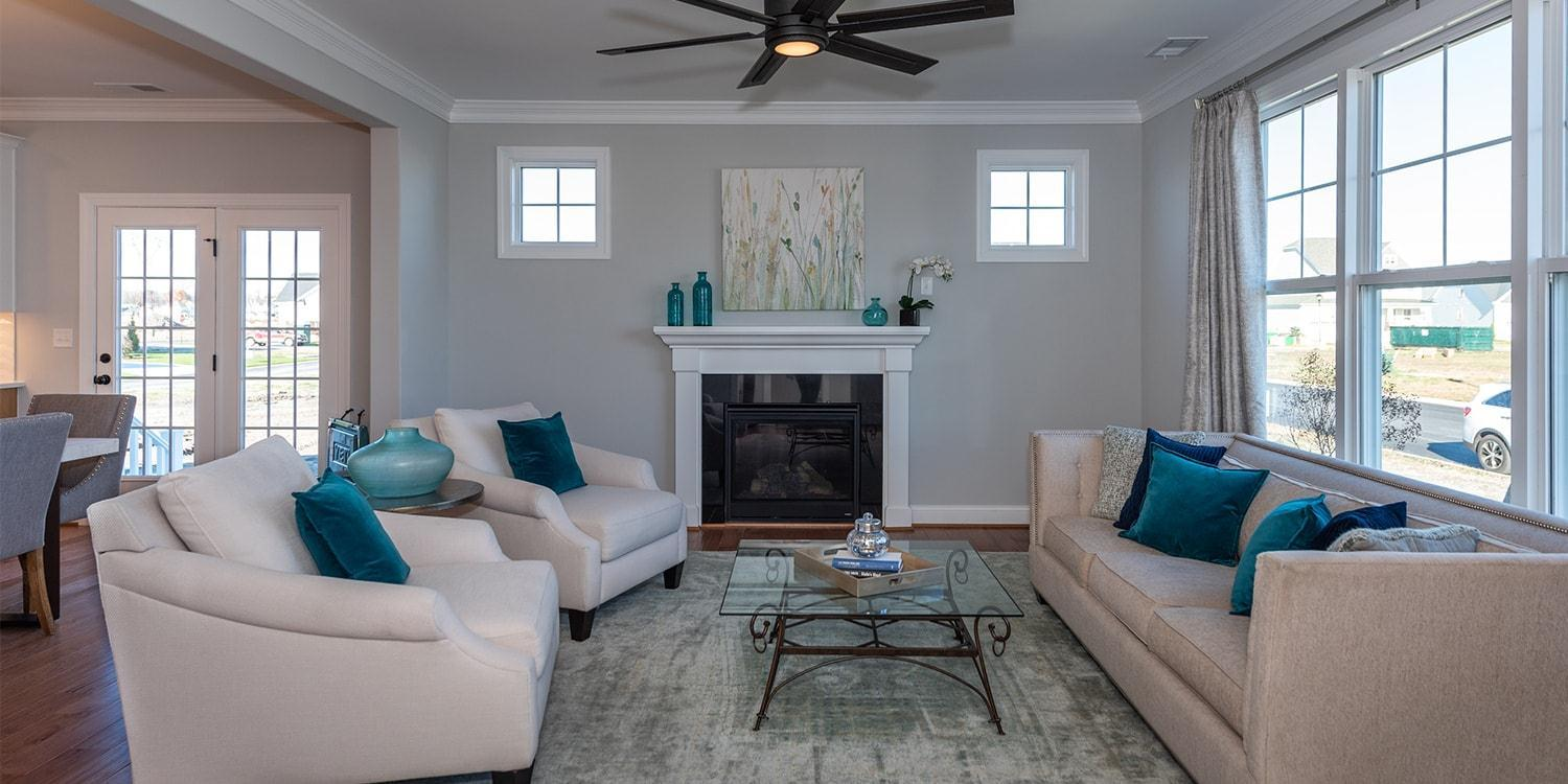 Living Area featured in the Manchester By Eagle in Richmond-Petersburg, VA