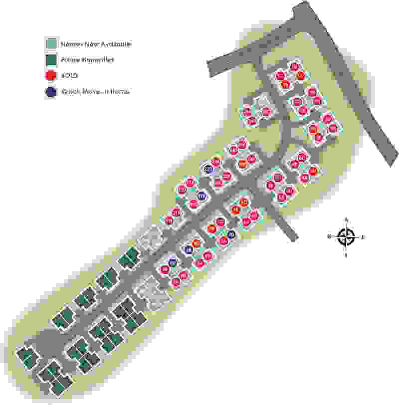 Eagle Construction Villas at Providence Site Plan
