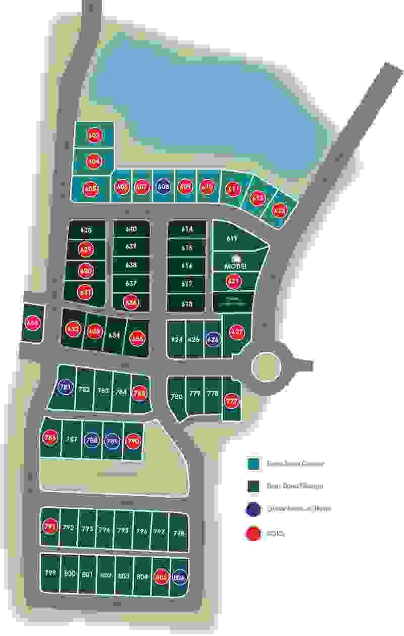 Eagle Construction Culpepper Landing Site Plan