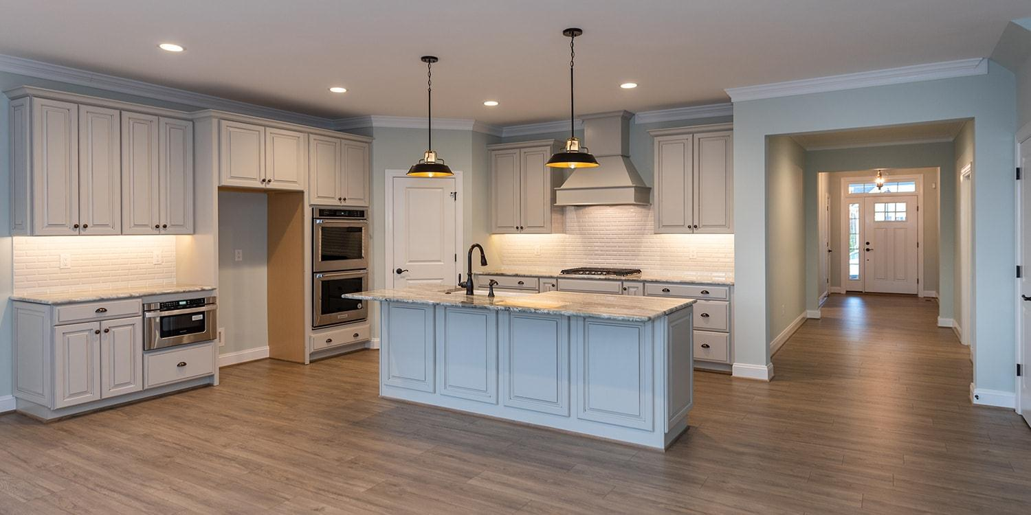 Kitchen featured in the Corvallis By Eagle in Blacksburg, VA