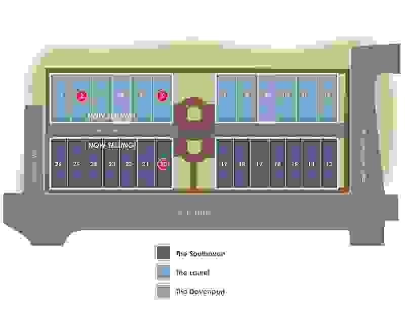 Eagle Construction McRae & Lacy Site Plan