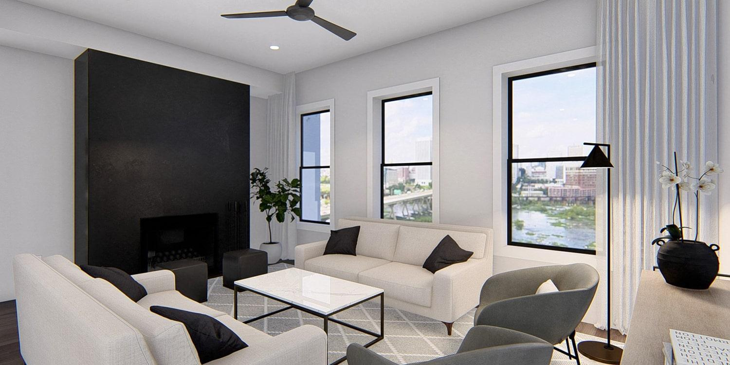 Living Area featured in The Southaven By Eagle in Richmond-Petersburg, VA