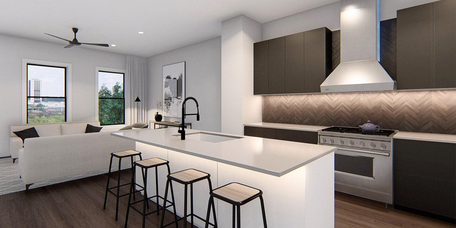 Kitchen featured in The Southaven By Eagle in Richmond-Petersburg, VA