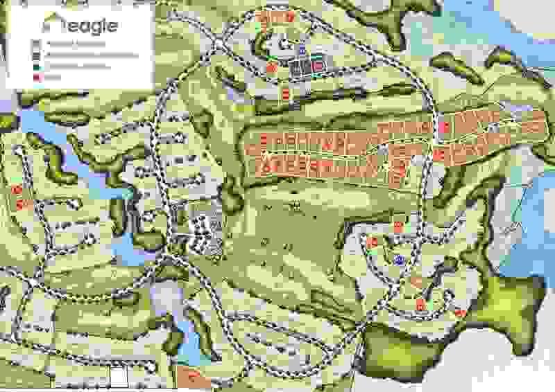Eagle Construction Cypress Creek Site Plan