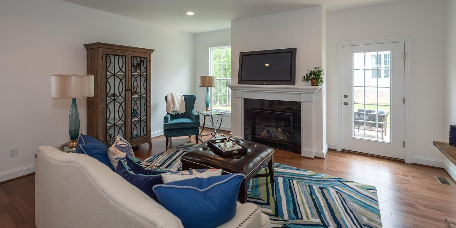 Living Area featured in the Hadley By Eagle in Richmond-Petersburg, VA