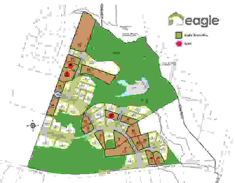 Eagle Construction Lankfords Crossing Site Plan
