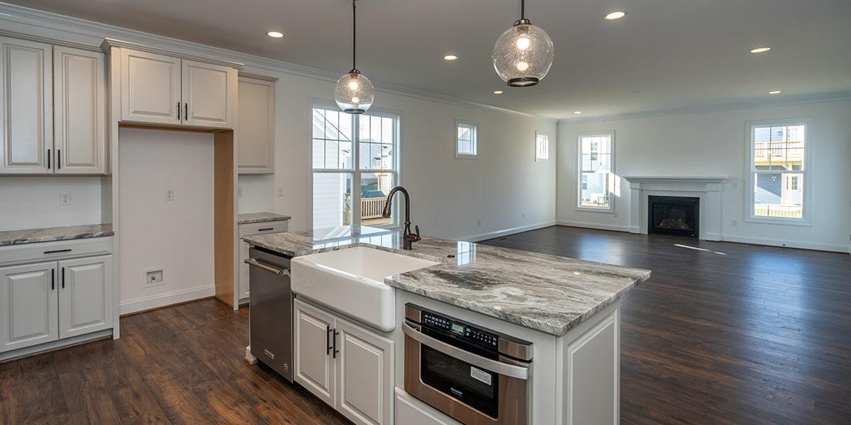 Kitchen featured in the Linden III By Eagle in Richmond-Petersburg, VA