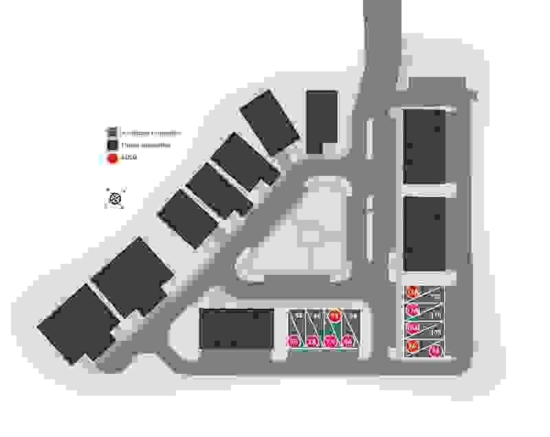 Eagle Construction West Broad Village Site Plan