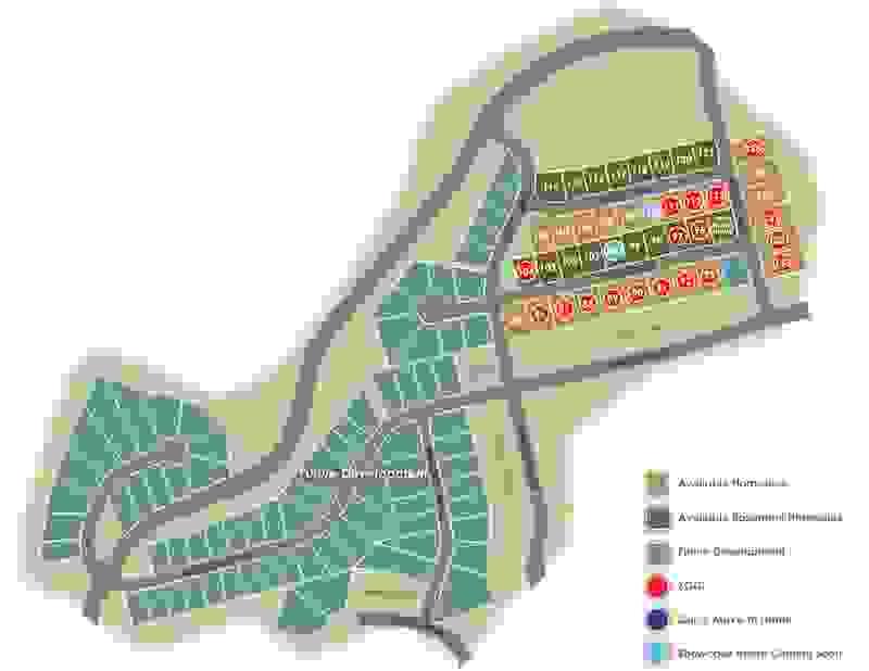Eagle Construction Givens Farm Site Plan