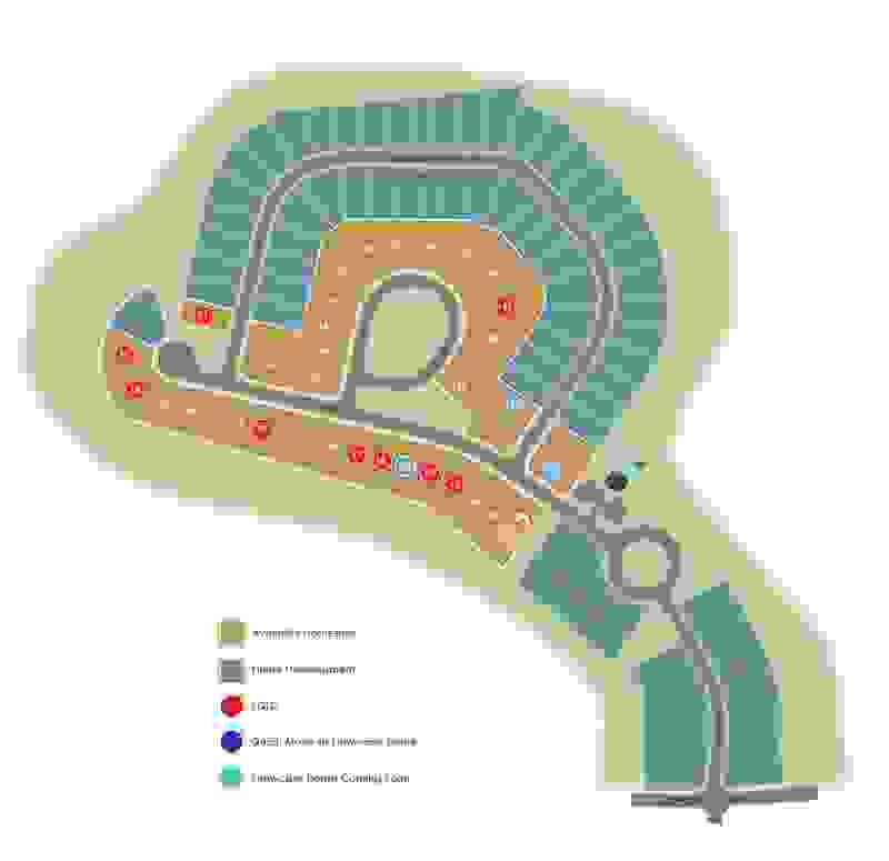Eagle Construction Parke at Cypress Creek Site Plan
