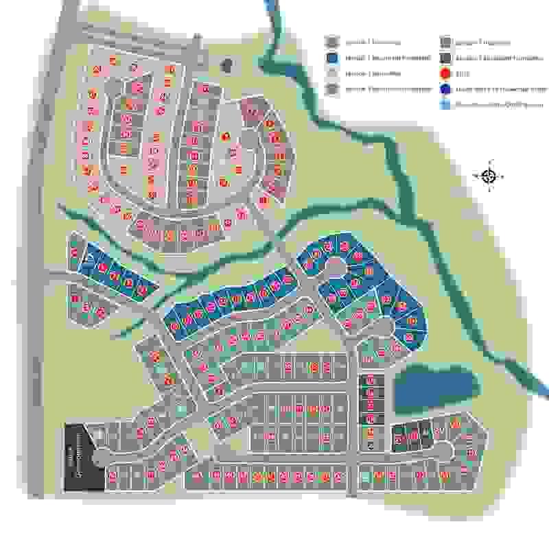 Eagle Construction Readers Branch Site Plan
