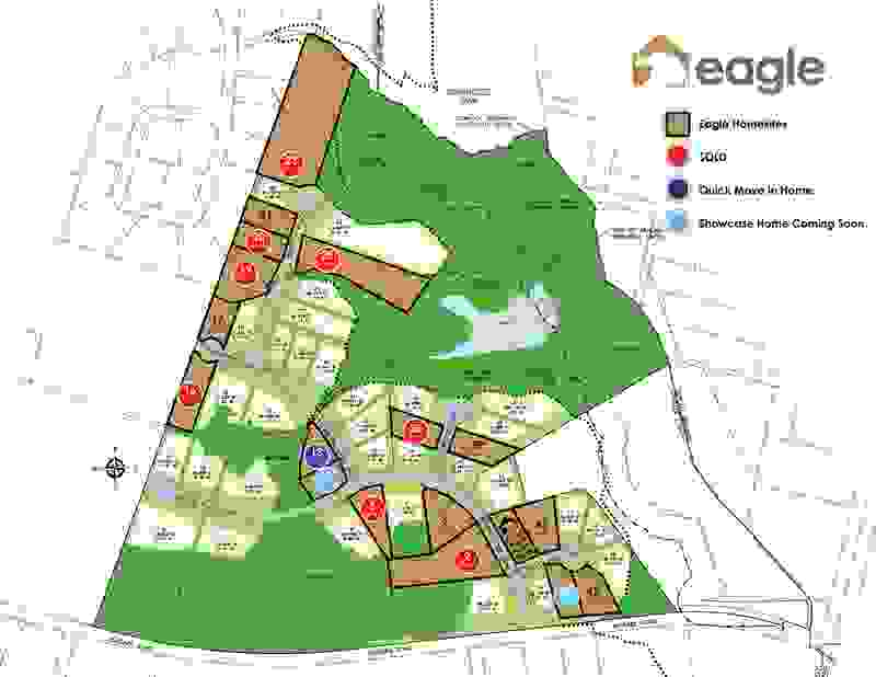 Eagle Construction Lankford's Crossing Site Plan
