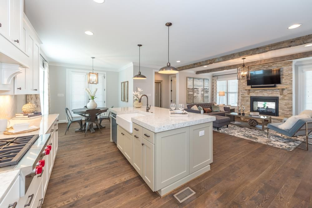 Kitchen featured in the Carlisle By Eagle Construction in Blacksburg, VA