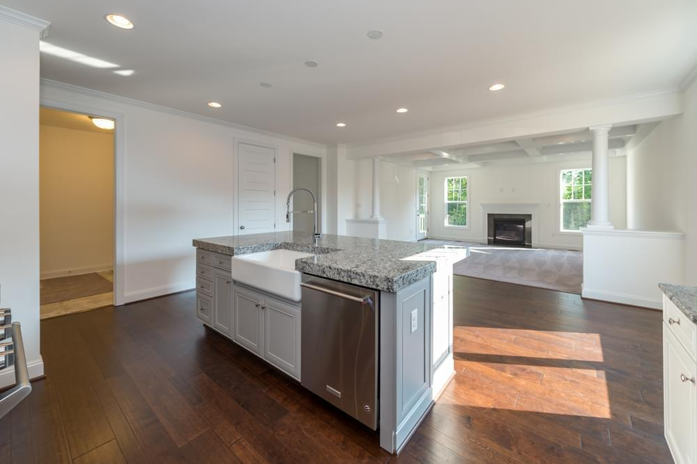 Kitchen featured in the Linden III By Eagle Construction in Blacksburg, VA
