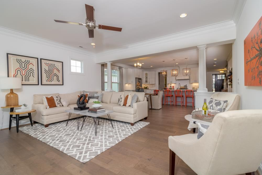 Living Area featured in the Linden III By Eagle Construction in Norfolk-Newport News, VA