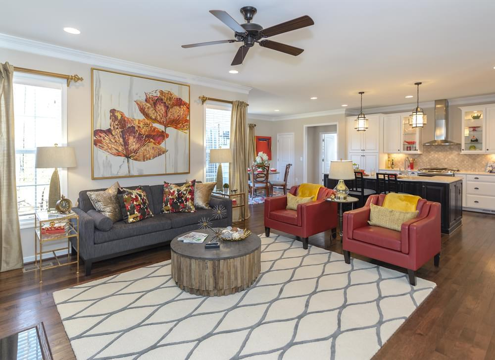 Living Area featured in the Westminster By Eagle Construction in Blacksburg, VA