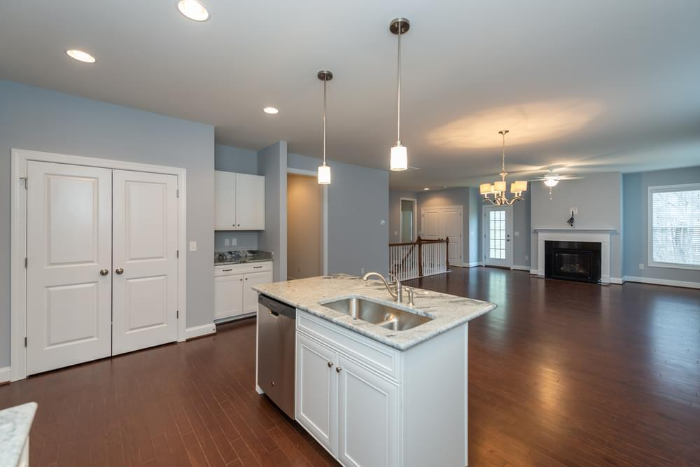 Kitchen featured in the Belmont Terrace By Eagle Construction in Blacksburg, VA