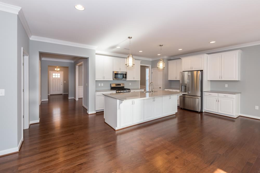 Kitchen featured in the Corvallis By Eagle Construction in Blacksburg, VA