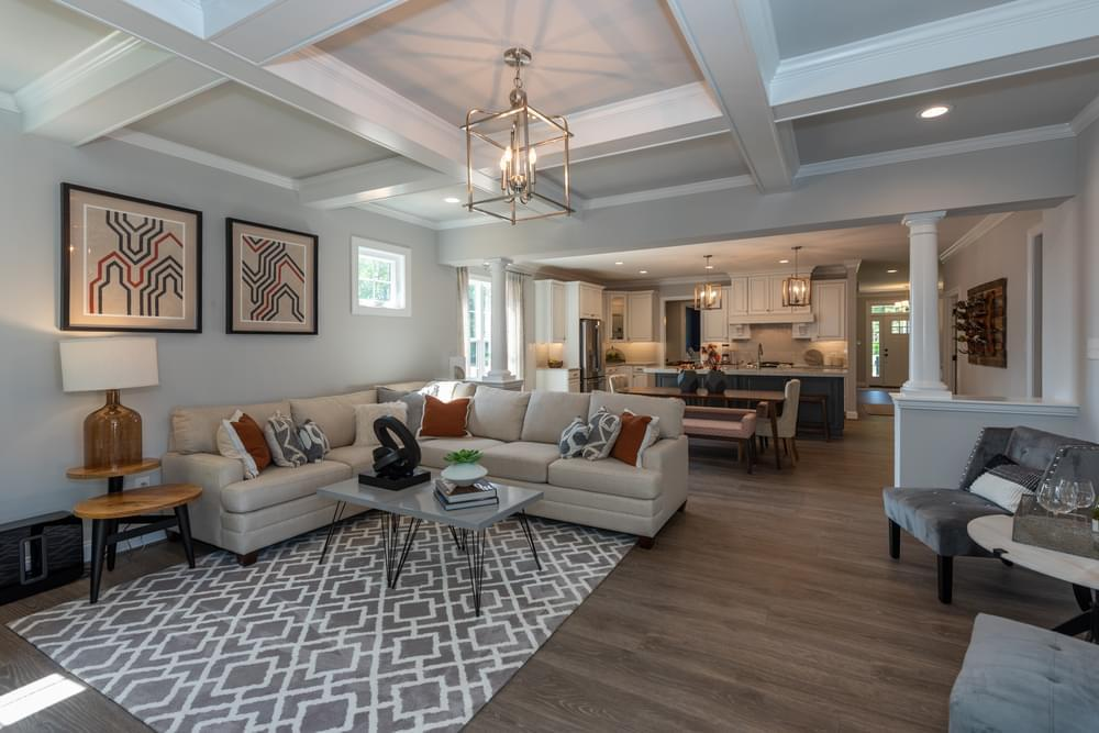 Living Area featured in the Linden Terrace By Eagle Construction in Blacksburg, VA