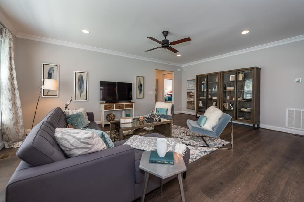 Living Area featured in the Helena By Eagle Construction in Richmond-Petersburg, VA