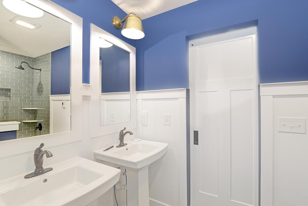 Bathroom featured in The Birkshire By Eastbrook Homes Inc. in Lansing, MI