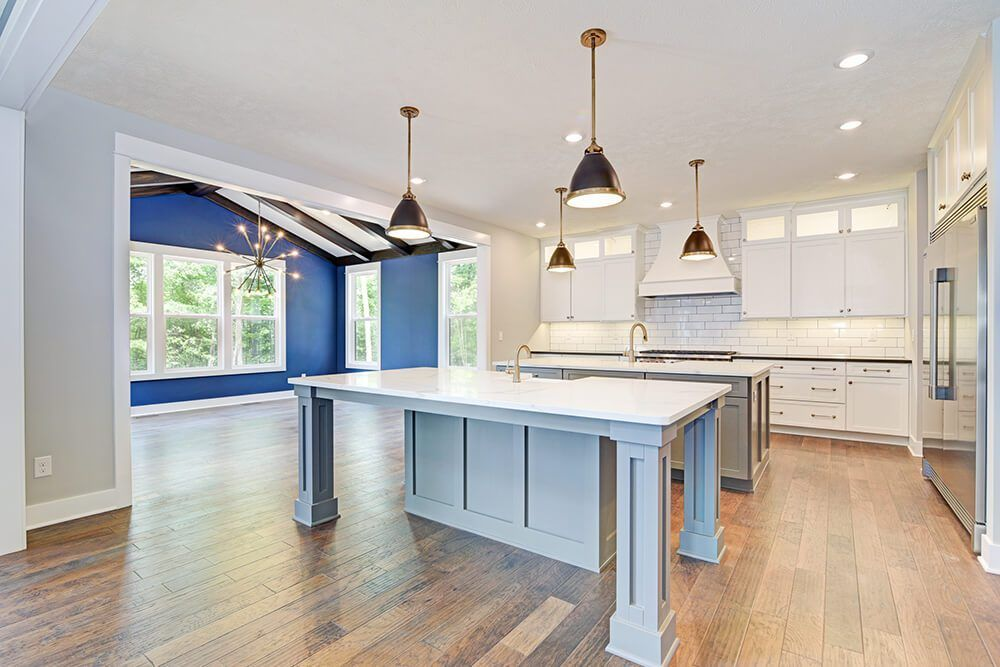 Kitchen featured in The Birkshire By Eastbrook Homes Inc. in Lansing, MI