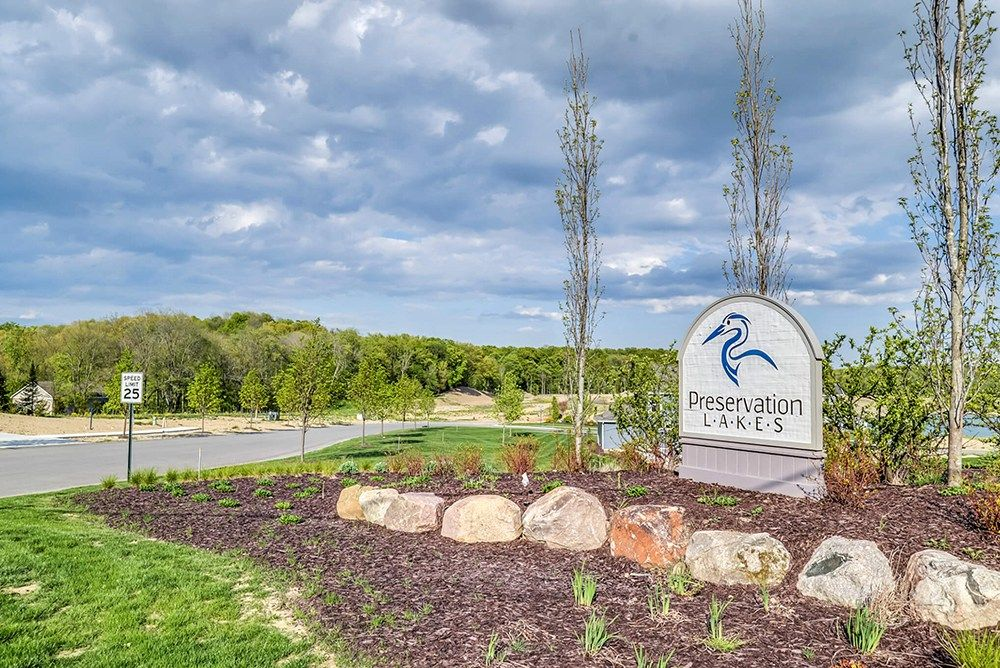 'Preservation Lakes' by Eastbrook Homes Inc. in Grand Rapids