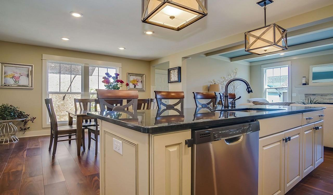 Kitchen featured in The Macatawa Legends Townhomes By Eastbrook Homes Inc. in Grand Rapids, MI
