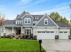 The Birkshire - Woodridge: Saint Johns, Michigan - Eastbrook Homes Inc.