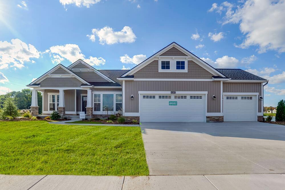 Exterior featured in The Maxwell By Eastbrook Homes Inc. in Grand Rapids, MI