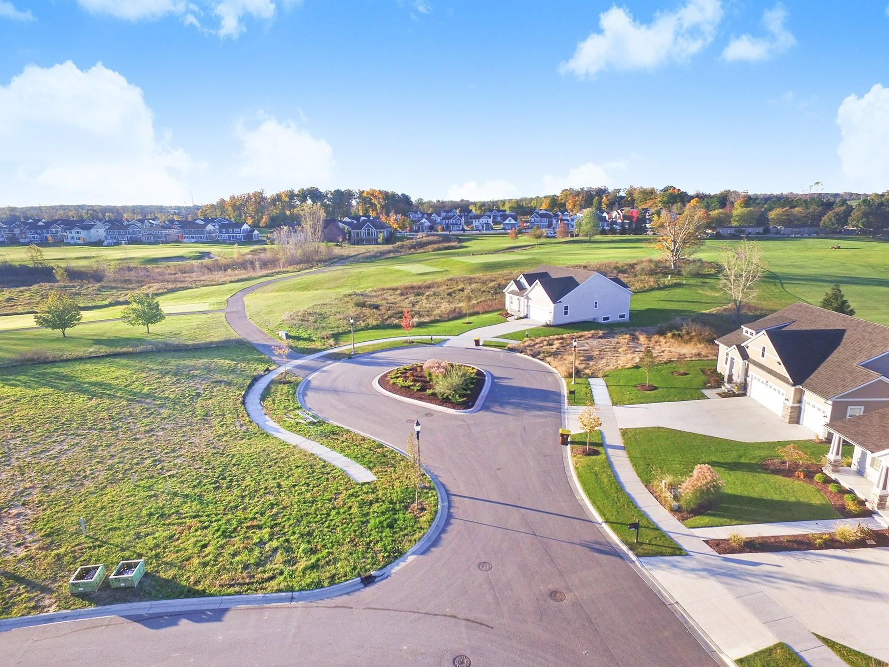 'College Fields' by Eastbrook Homes Inc. in Lansing