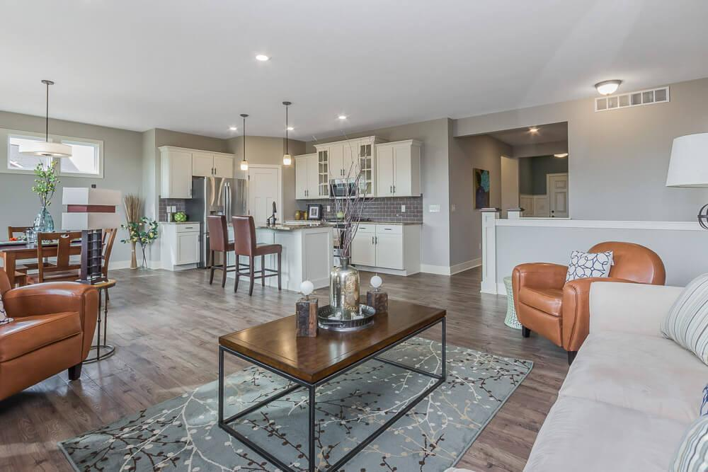 Living Area featured in The Georgetown By Eastbrook Homes Inc. in Grand Rapids, MI