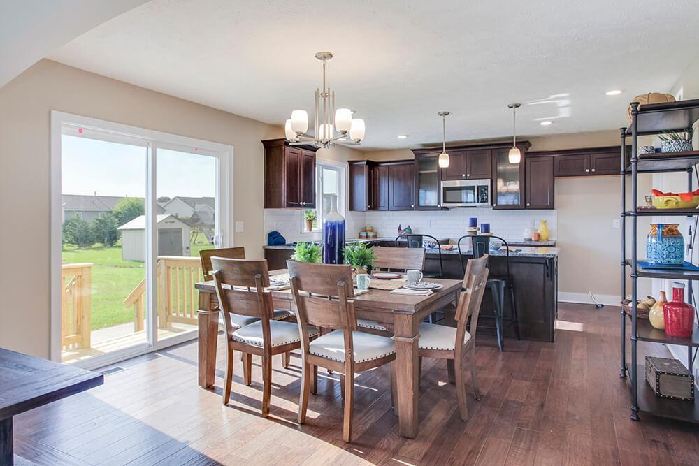 Kitchen featured in The Sanibel By Eastbrook Homes Inc. in Lansing, MI