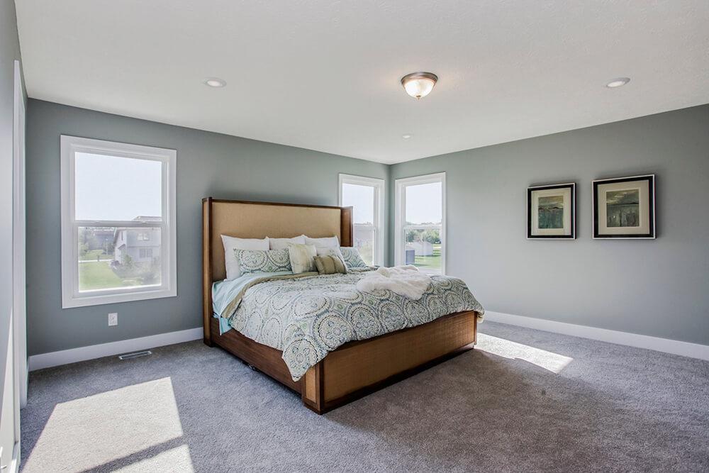 Bedroom featured in The Sanibel By Eastbrook Homes Inc. in Lansing, MI