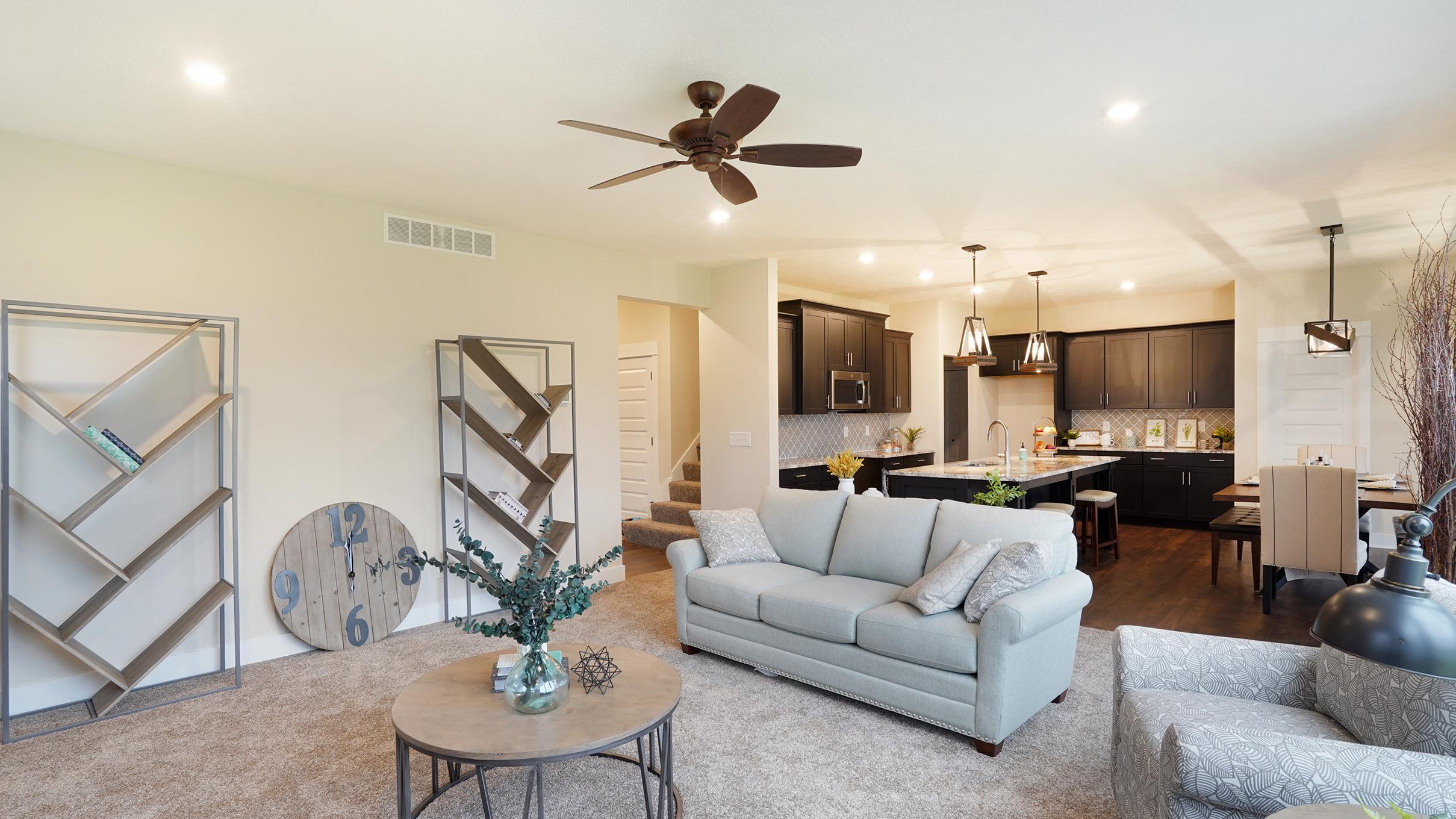 Living Area featured in The Newport By Eastbrook Homes Inc. in Lansing, MI